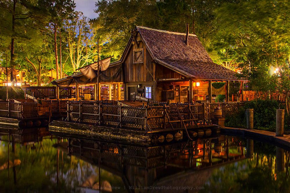 Tom Sawyer Loading Dock at Night sm