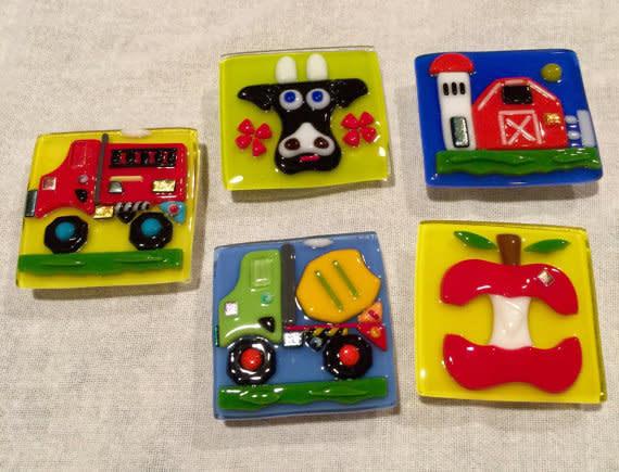 Fridge Magnets   Set