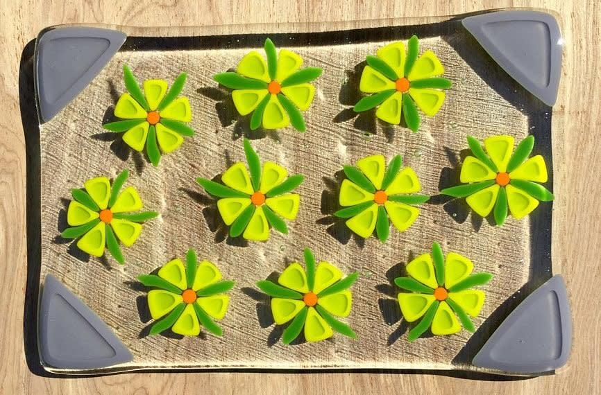 trivet lime green