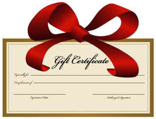 Gift Certificate Clip Art