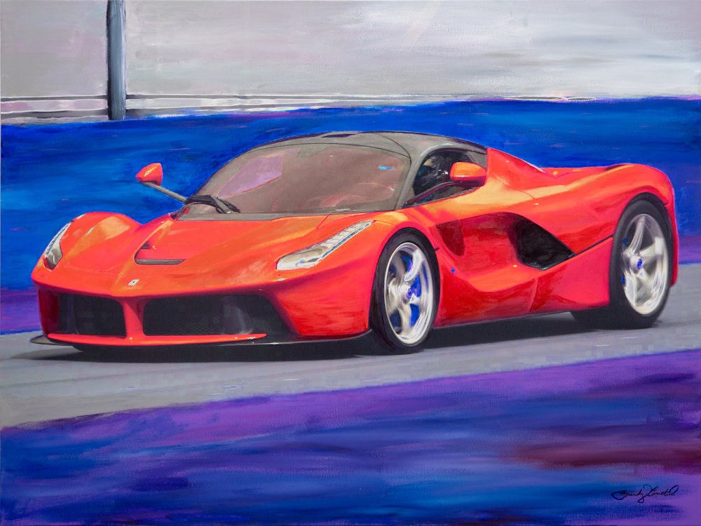 La Ferrari by Brandy Amstel highres