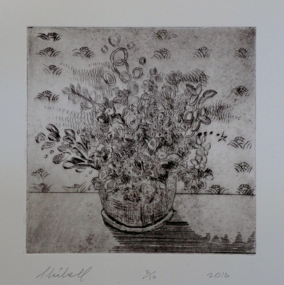 Van Gogh Potted Plant