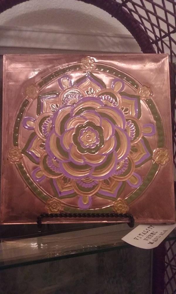 Vitality Wheel Mandala 1