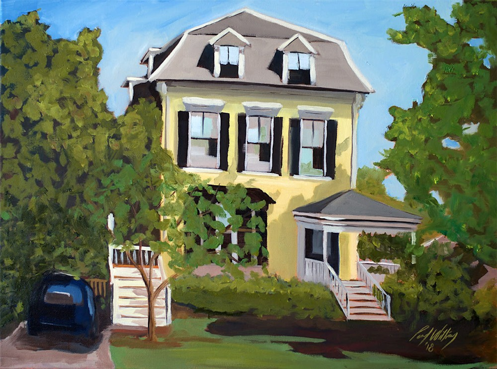 Savin Hill Victorian by Paul William artist