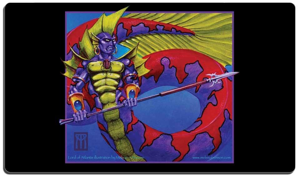 playmat lord of atlantis alpha