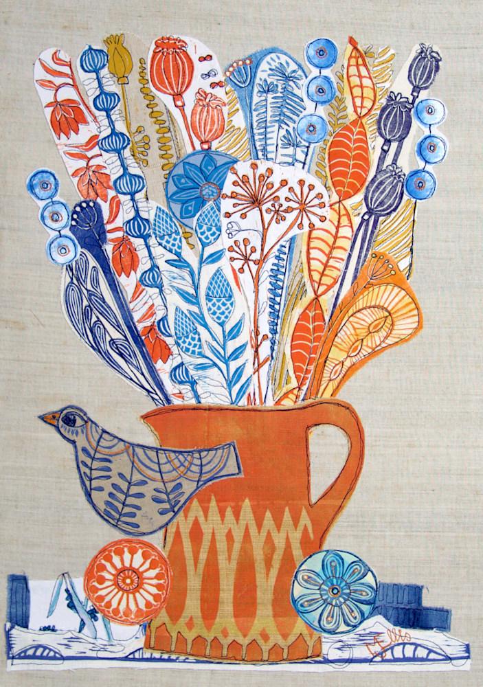 lino coll orange jug
