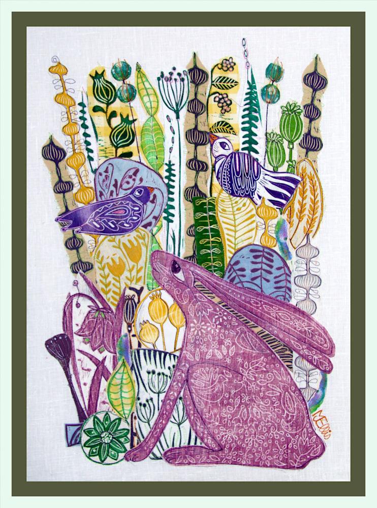 lino coll hare framed