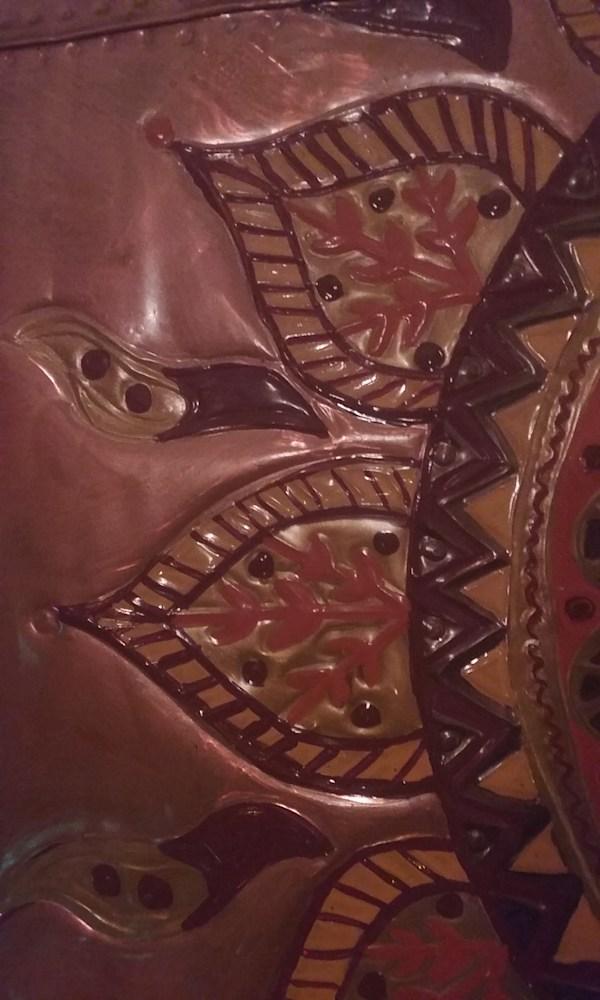 Gallery Copper Sun Repoussé