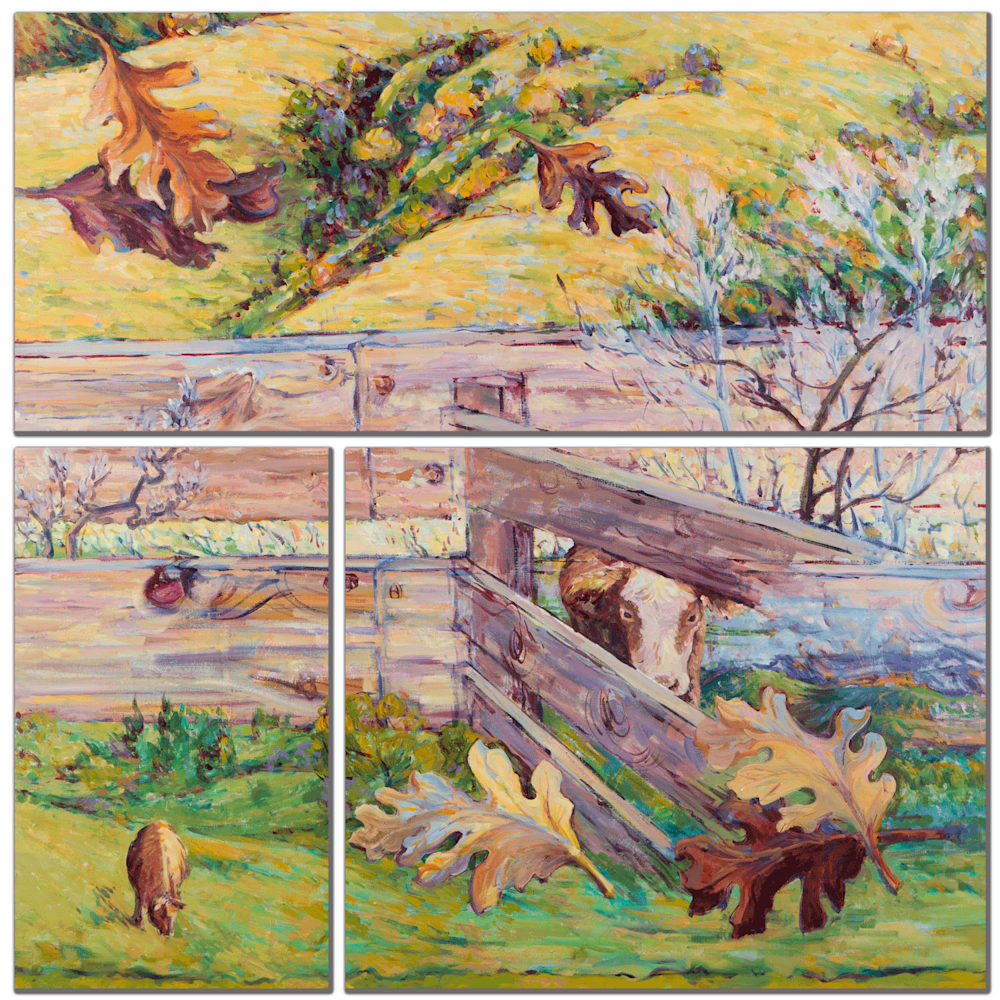 Fall Farm Mulit Panel Wall Art