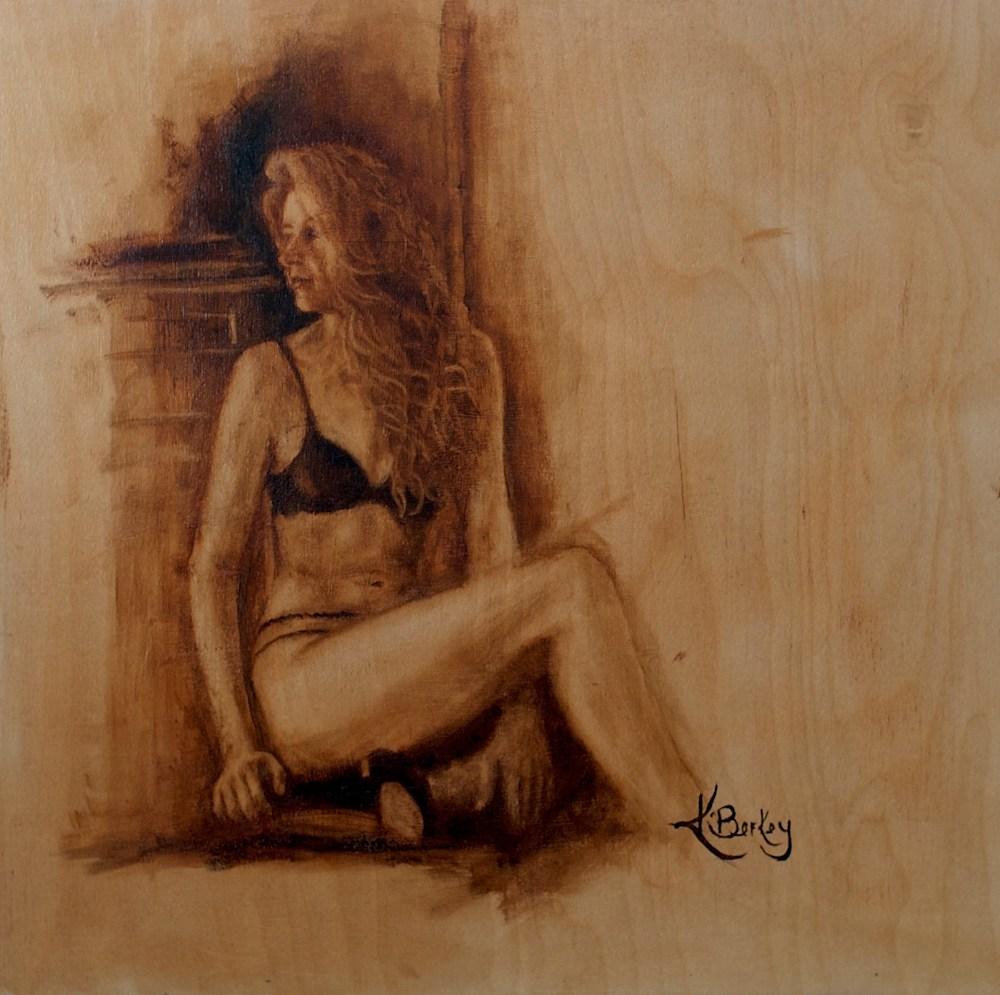 So Far Away Kelly Berkey 16x16 oil on birch $595