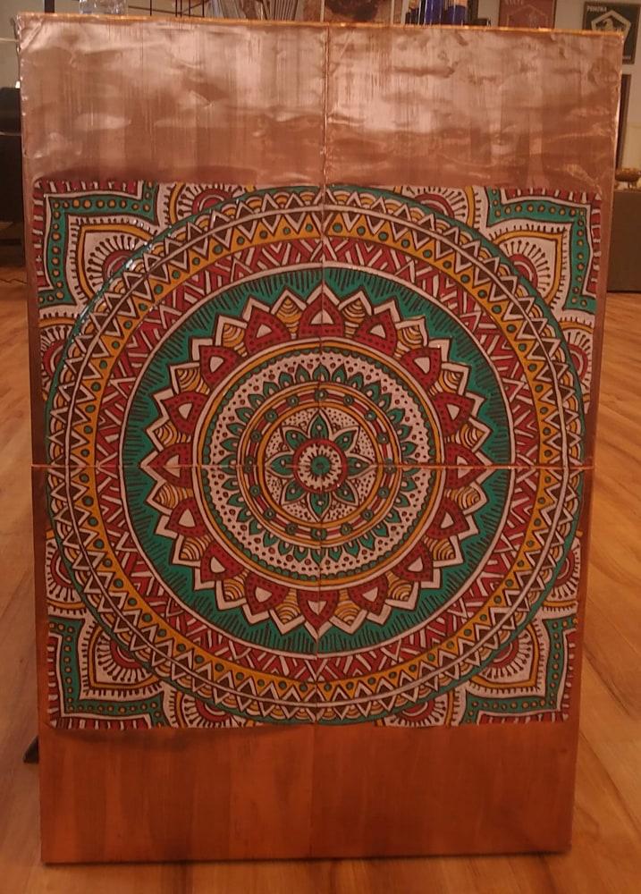 Meditation Mandala on Display