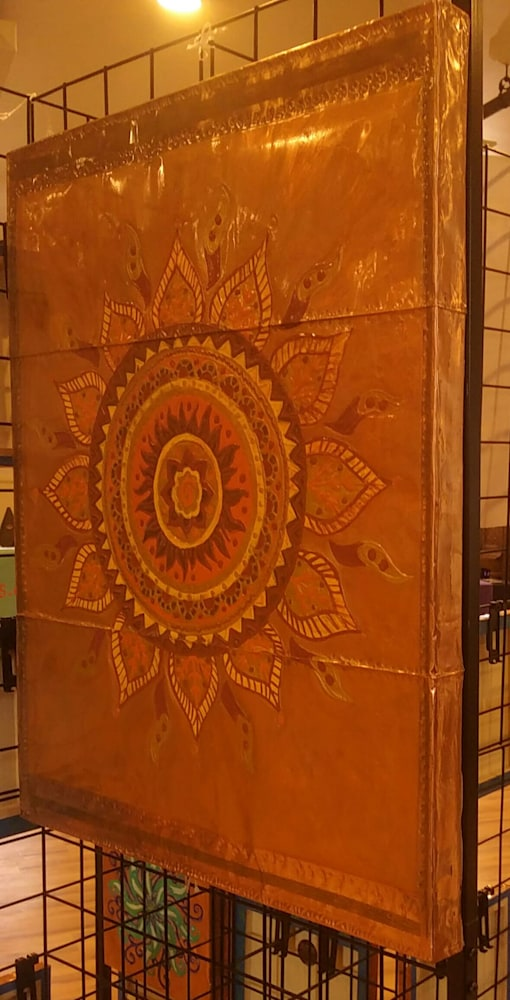 Signature Large Sun Mandala on Display