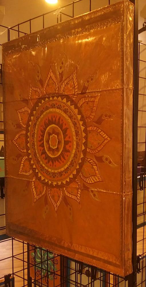 Signature Large Sun Mandala on Display
