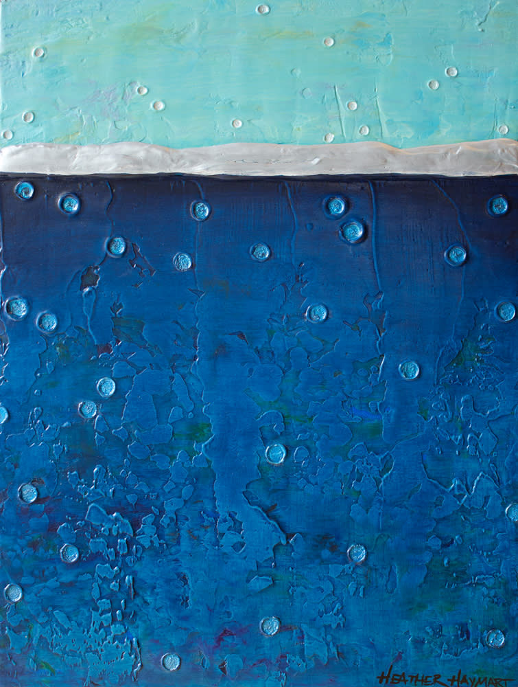 Rainbow Series Blue 2 by Heather Haymart Sm