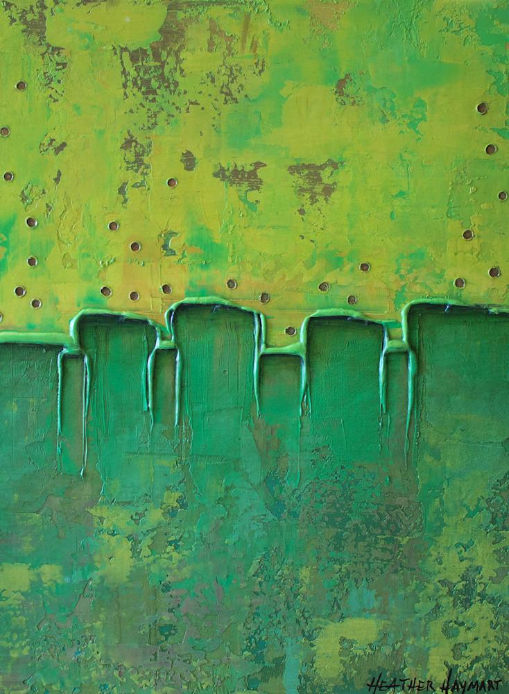 Rainbow Series Green by Heather Haymart Sm