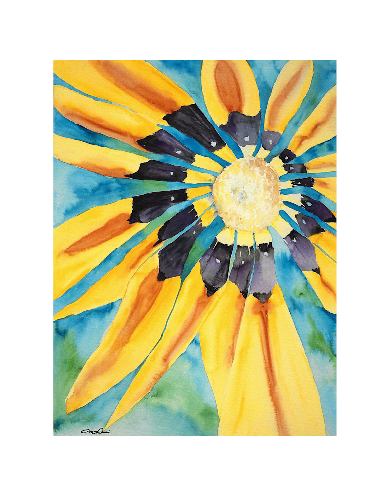 Sunflower Print on 11x14