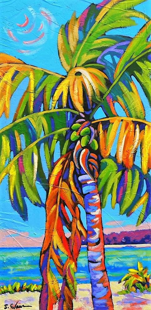 Coconut Jazz in Blue web