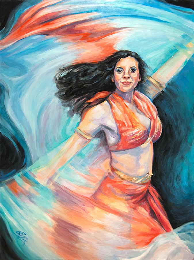 Original Rebecca Zook Dance In A Hurricane