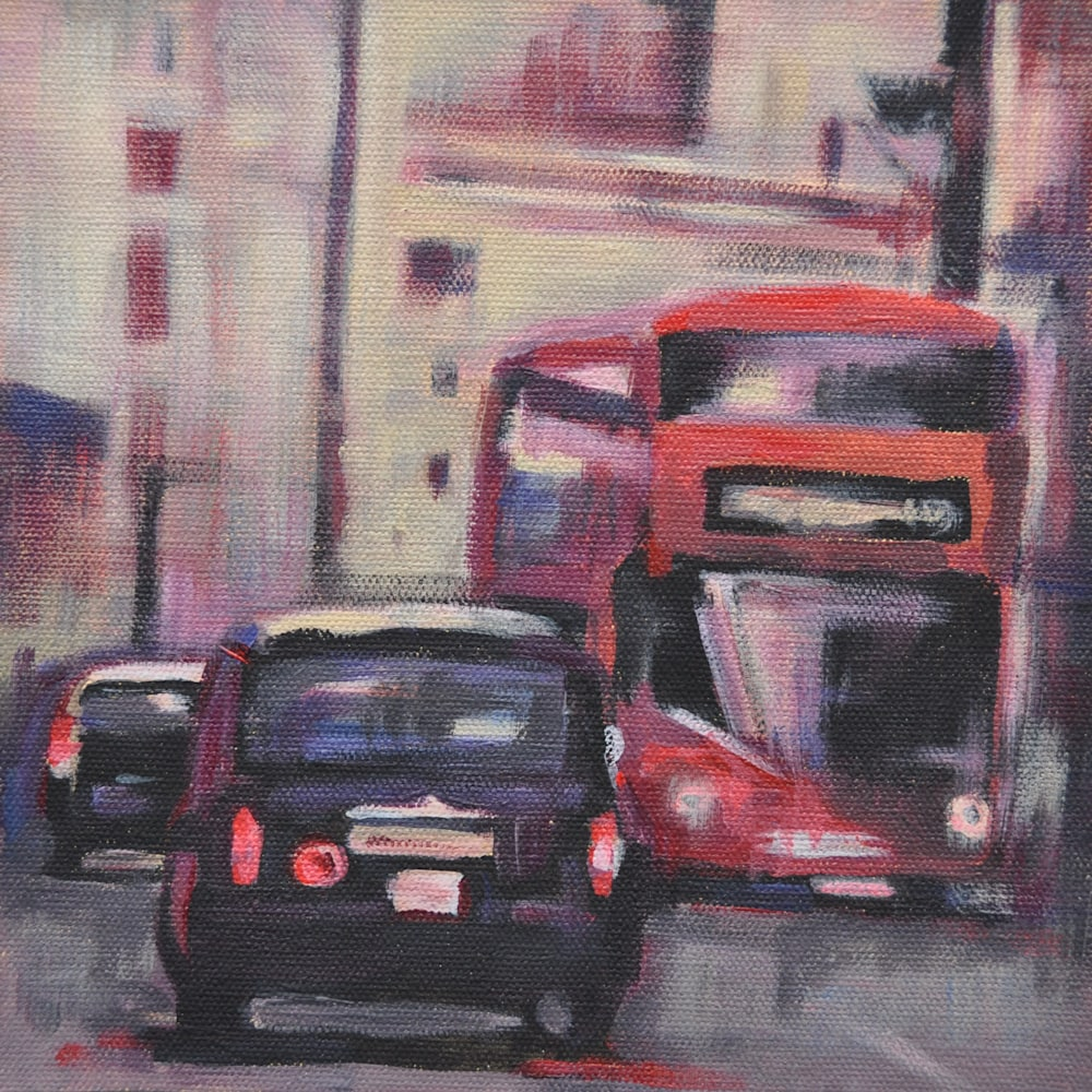 19x19 The Streets of London by Steph Fonteyn