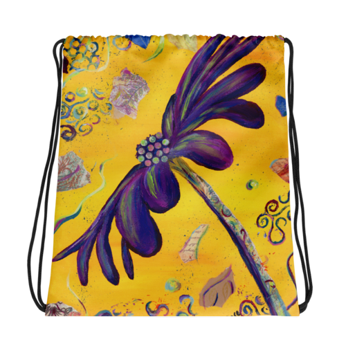 Drawstring Bag  Party Daisy