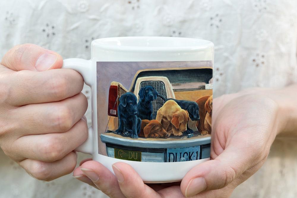 Tailgating Wrap Around Coffee Mug