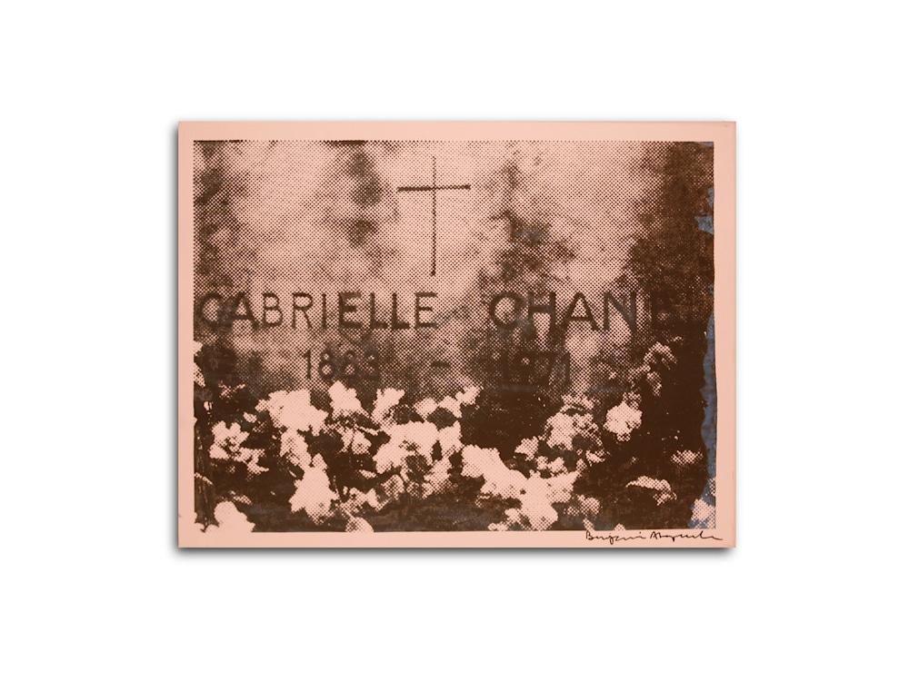 Untitled Chanel Gravesite Light Pink Benjamin Alejandro 20X26