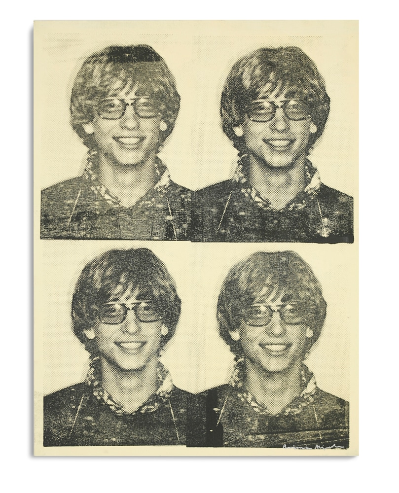 Mugshot Bill Gates Yellow Mugshot Series Benjamin Alejandro