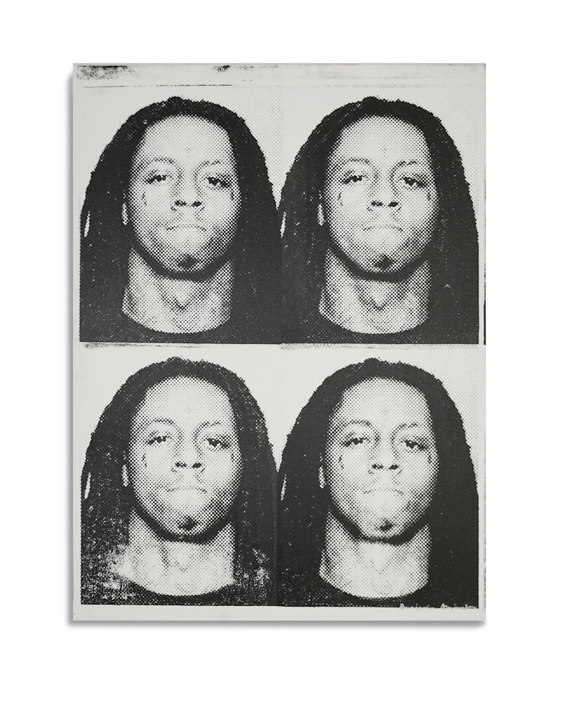 Mugshot Lil Wayne Black White Mugshot Series Benjamin Alejandro