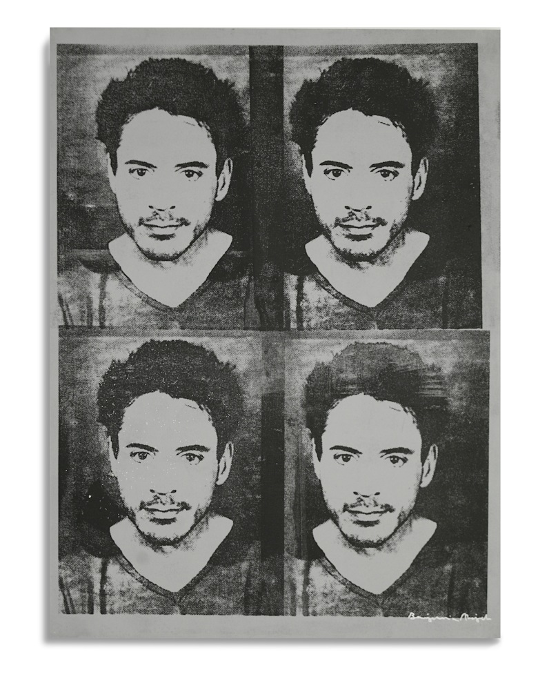 Mugshot Robert Downey Jr Gray Mugshot Series Benjamin Alejandro
