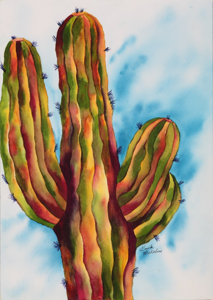 Vivid & Majestic Saguaro Cactus