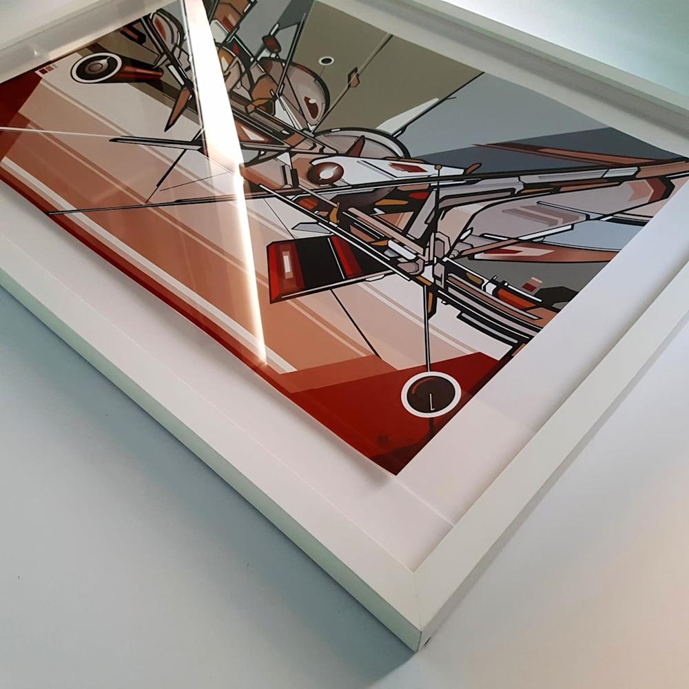 VENETIIA framed oblique