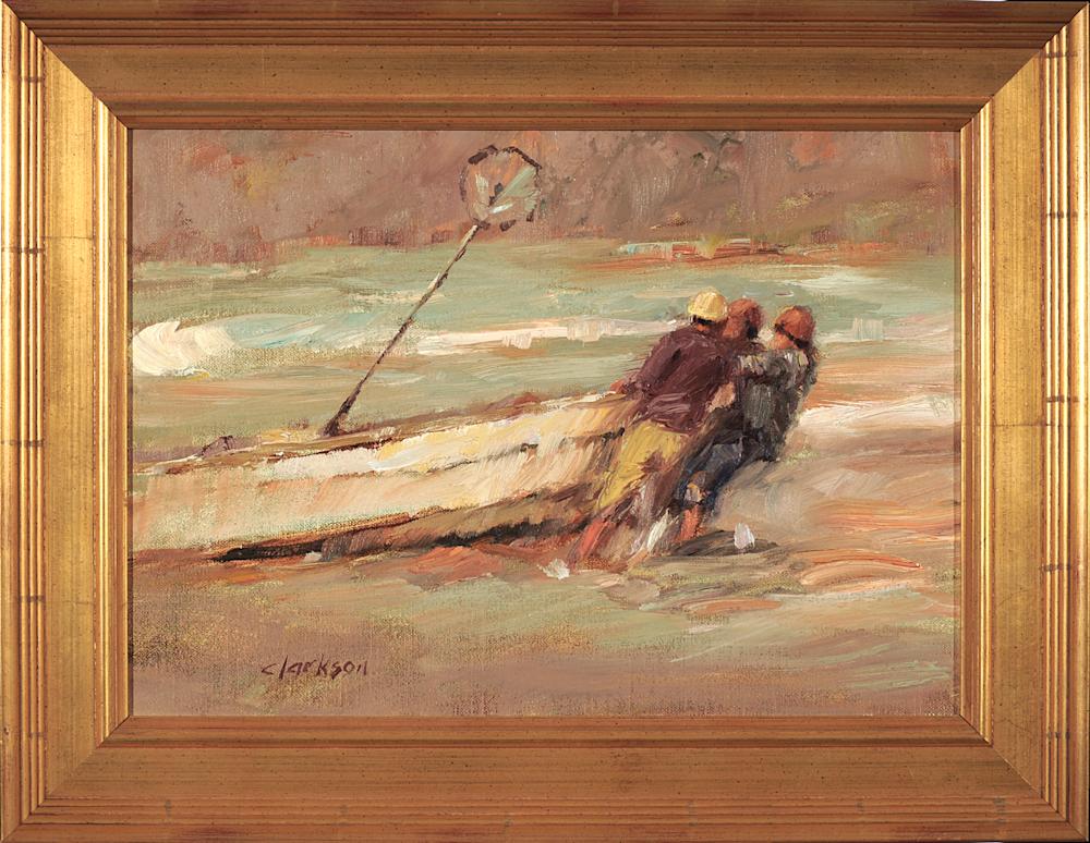 Pulling her ashore Frame front adj unsat smaller