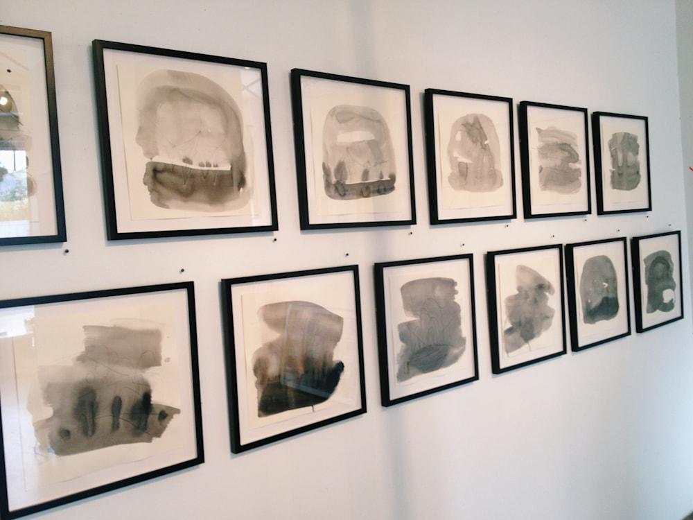 Dream drawings in frames