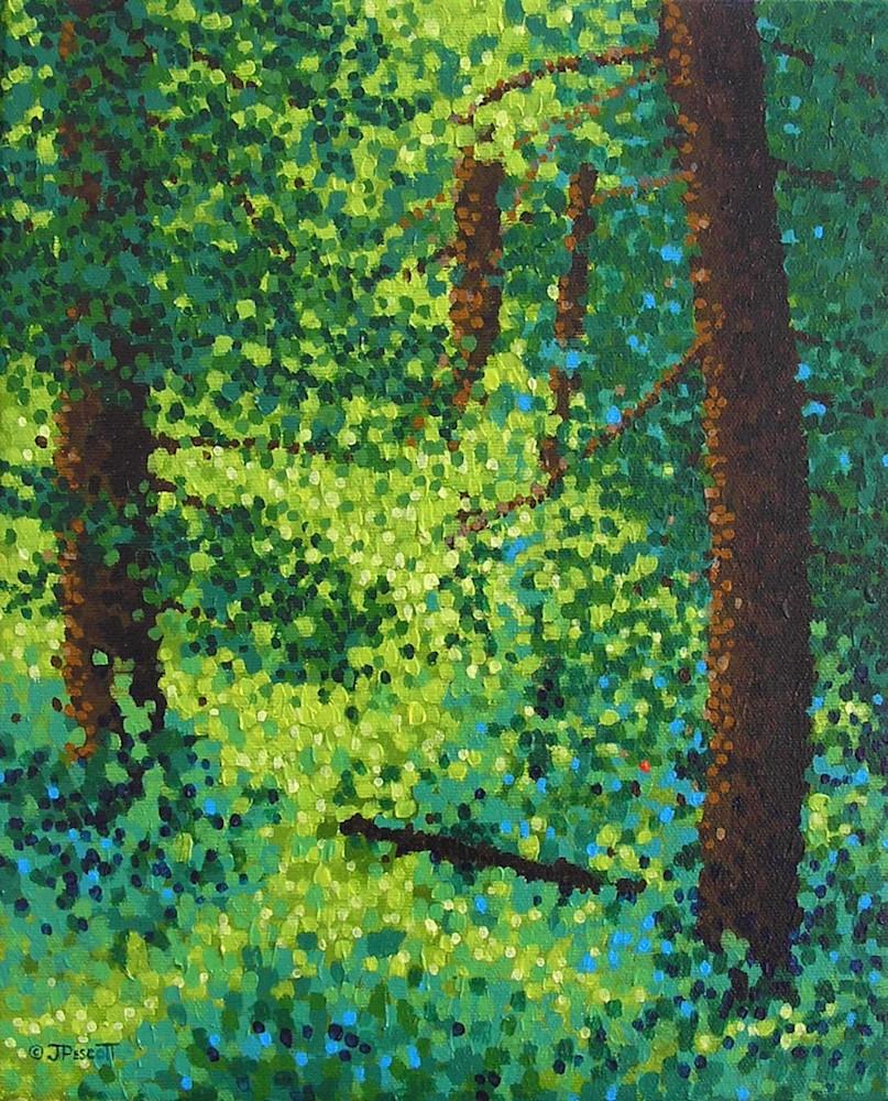 Woodland Sunlight Original