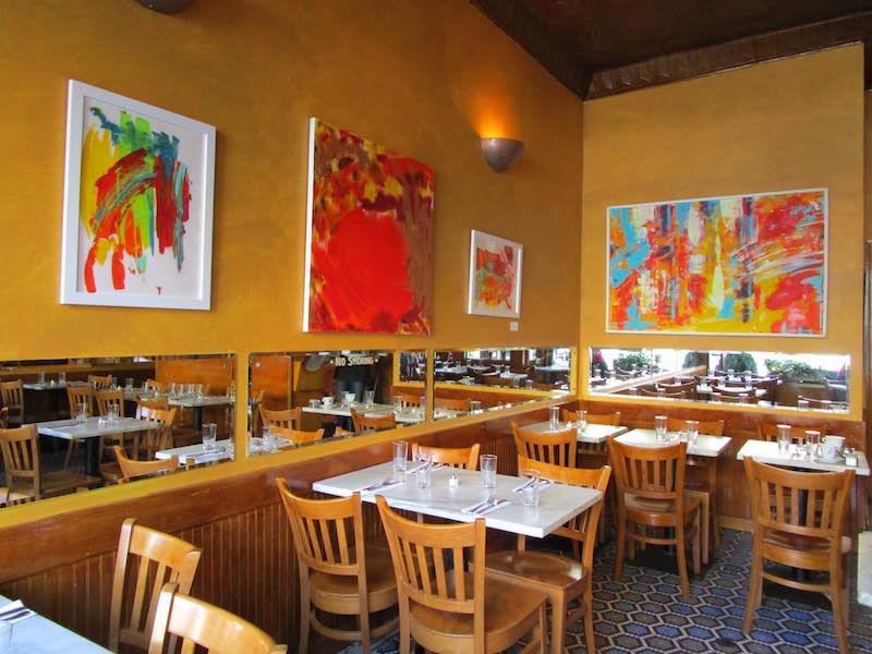 Chelsea Restaurant Installation Lesley Koenig