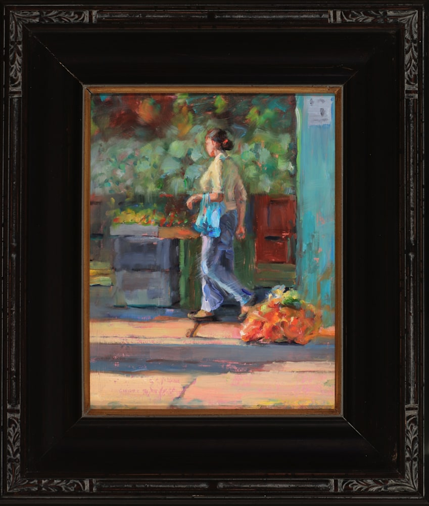Mercado framed adj