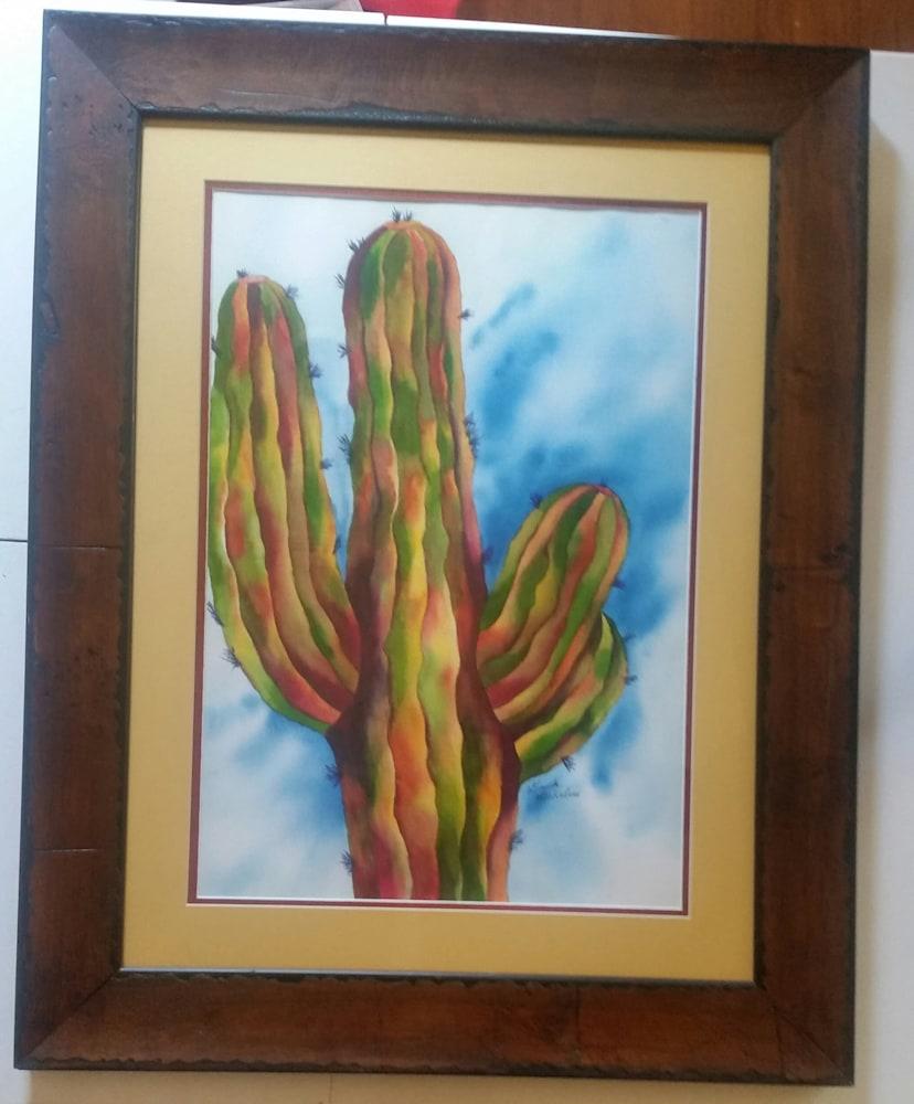 Vivid & Majestic Saguaro Cactus--Original