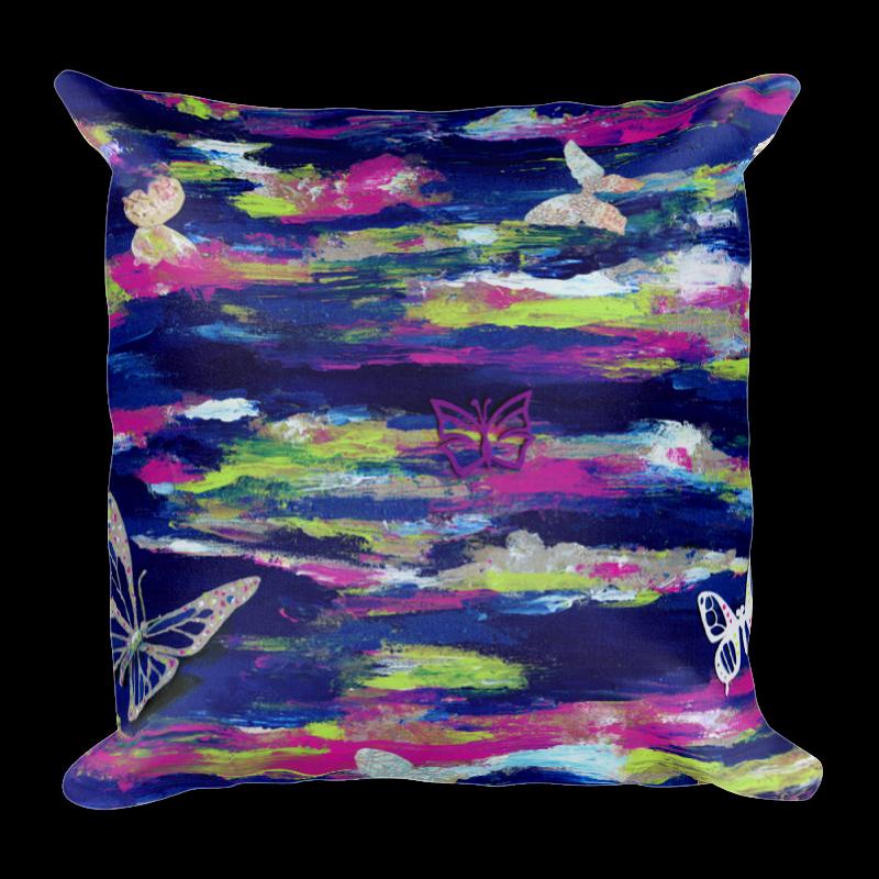 Metamorphosis 18x18 Pillow
