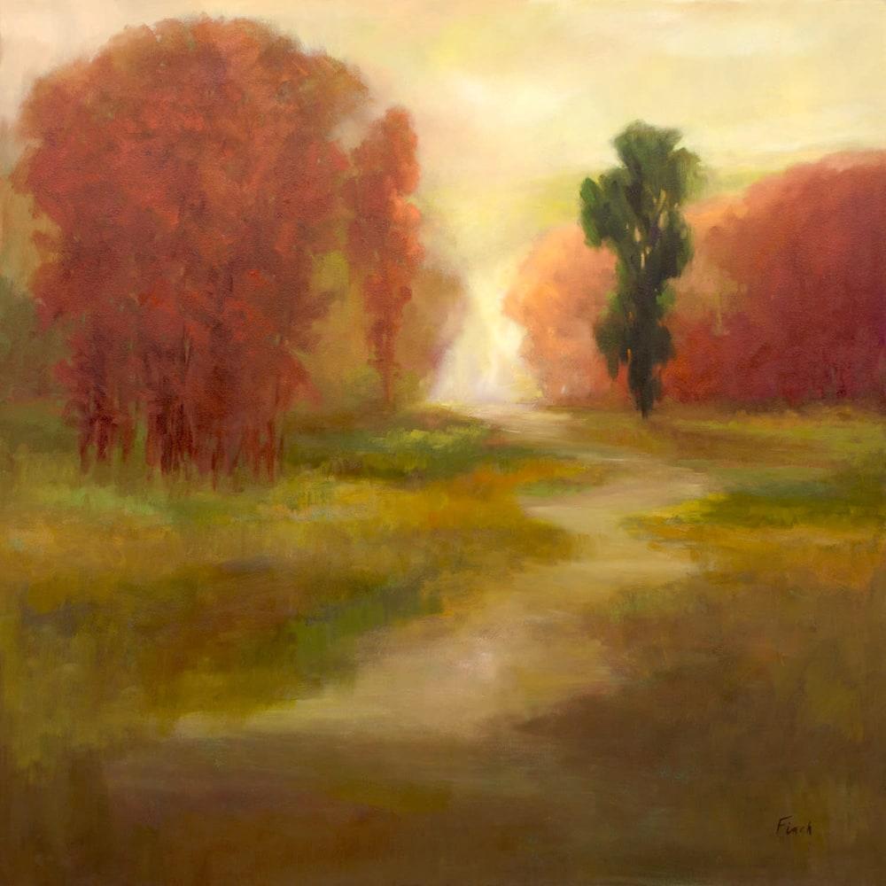 4463 AutumnTrees36x36oil