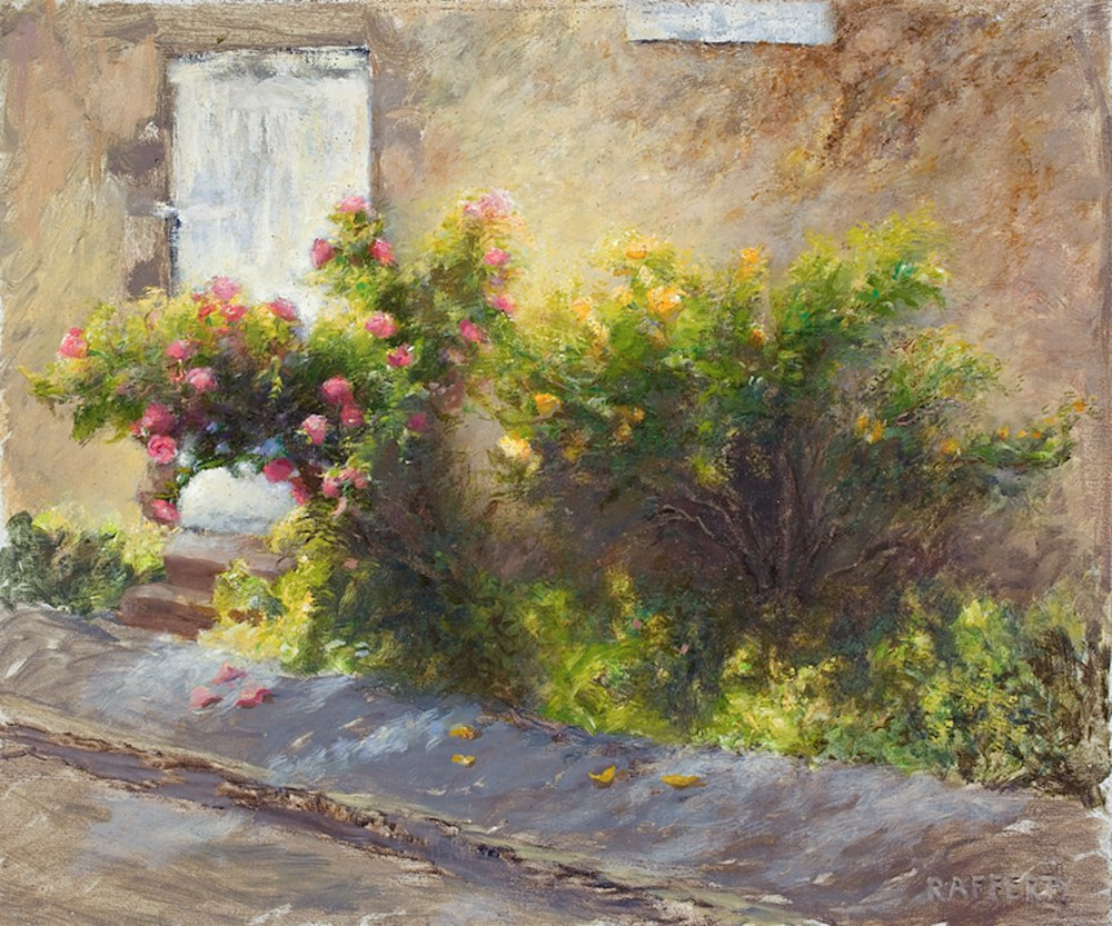 Argenton Roses   Painting   Rafferty