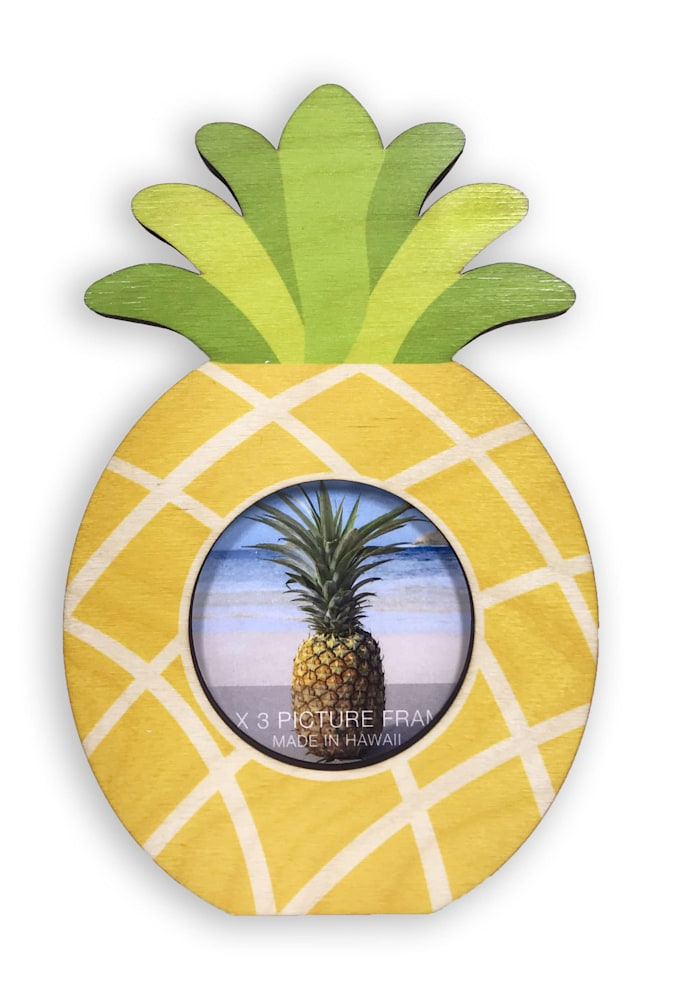 pineapple cutout mini frame