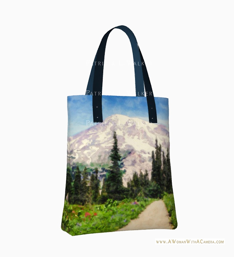 A Day in Paradise Urban Tote Front