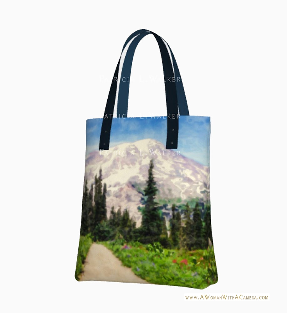 A Day in Paradise Urban Tote back