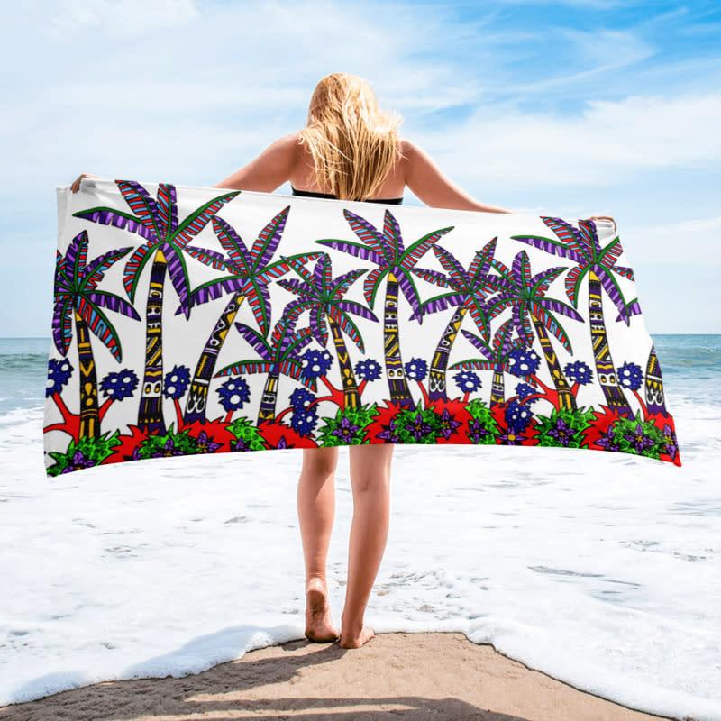 mockup Beach Beach 30x60 White