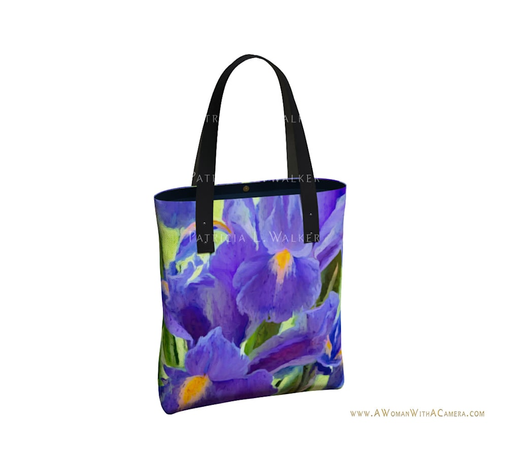 The Iris Affair Urban Tote Back watermark