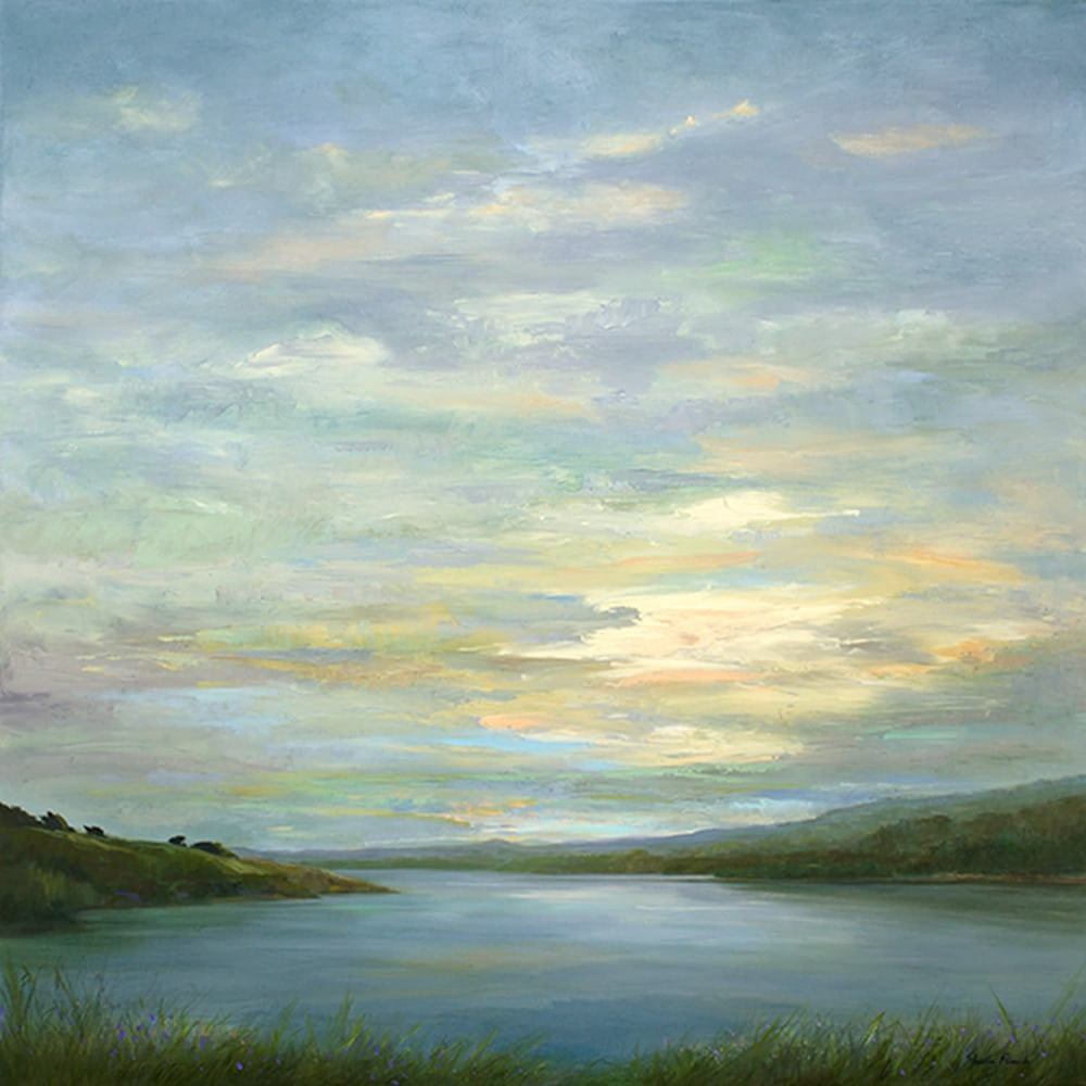 4500 crystal springs light show 36x36 oil