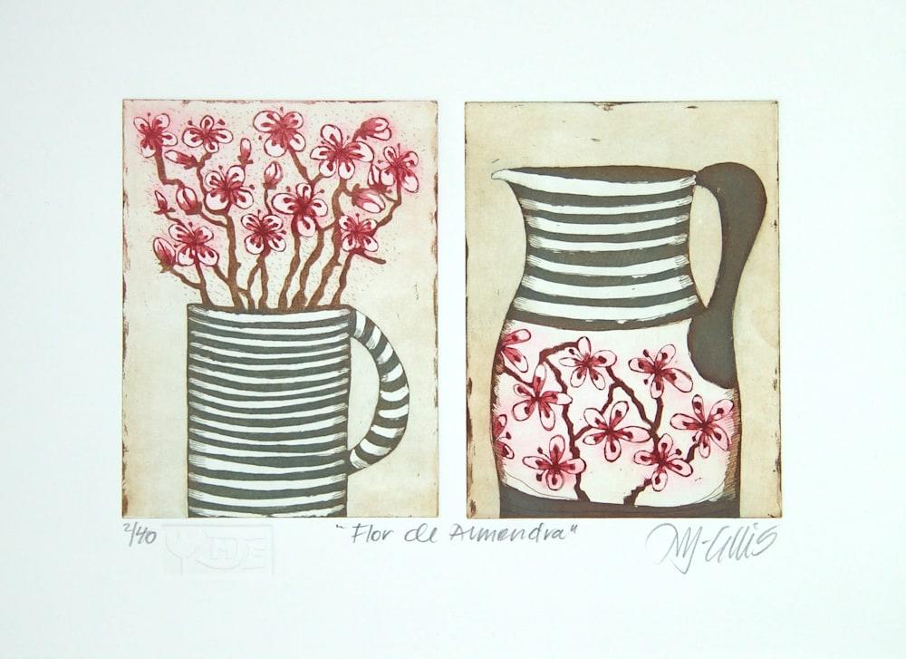 Flor de Almendar pair