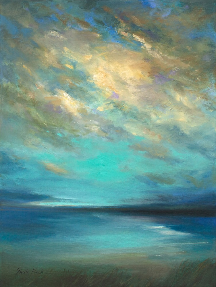 4499 coastal clouds36 16x12 oil