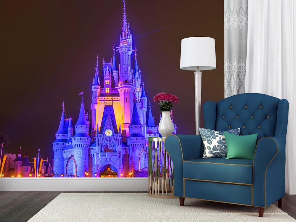 Cinderella's Castle at Night 1