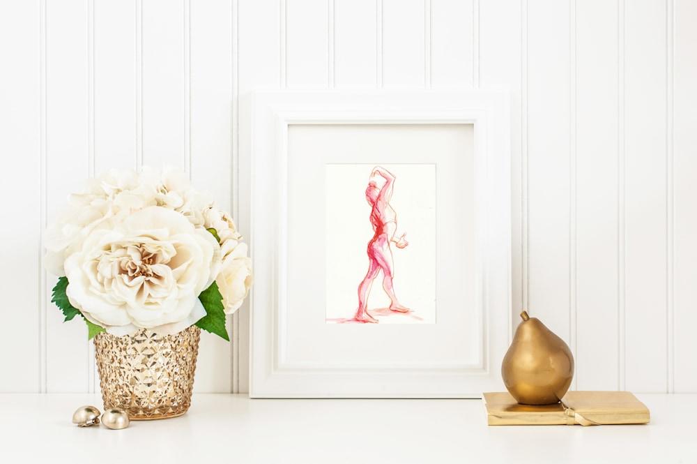 pinkreddancer framedstock